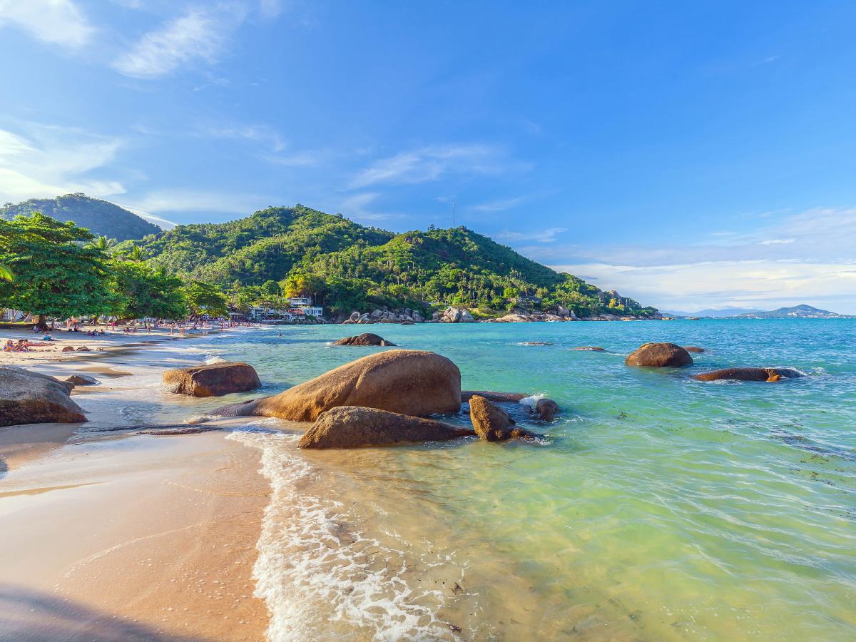 Silver Beach on Koh Samui in Thailand